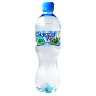 Вода Сенежская газированная