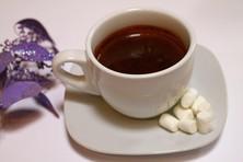 Горячий шоколад темный