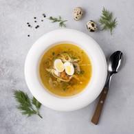 Суп-лапша куриная