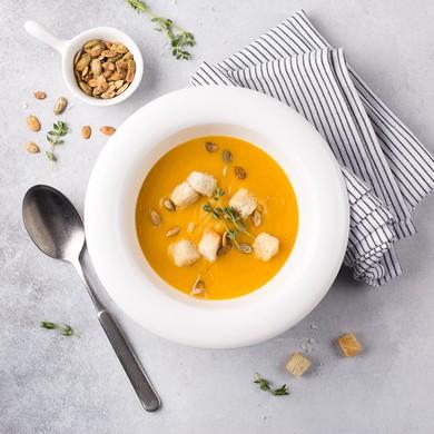 Тыквеннный крем-суп