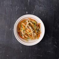 Удон+овощи+ соус